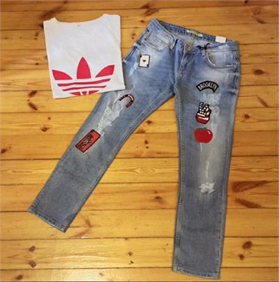 Armalı Big Apple Boyfriend Jean