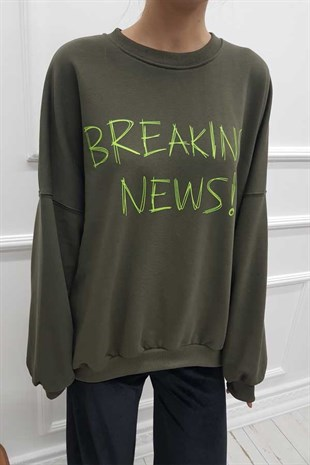 Breaking News Salaş Sweatshirt