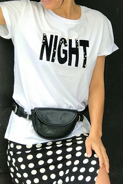 Night İncili Tshirt