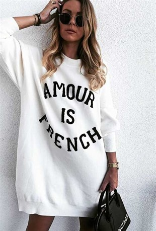 Amour Sweat Elbise