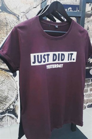 Just Did It Tshirt