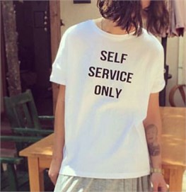 Self Servis Only Tshirt